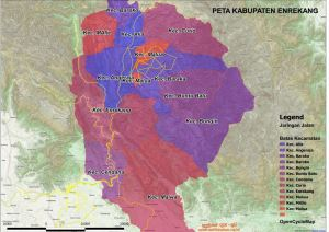 Peta Kabupaten Enrekang   Syafraufgisqu.wordpress.com